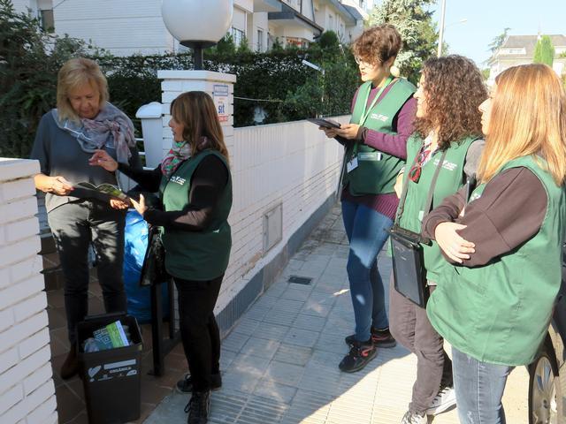 Imatge de la campanya informativa del nou model de recollida
