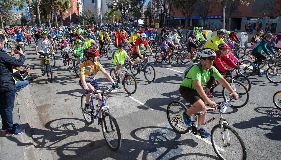 Bicicletada a Tarragona