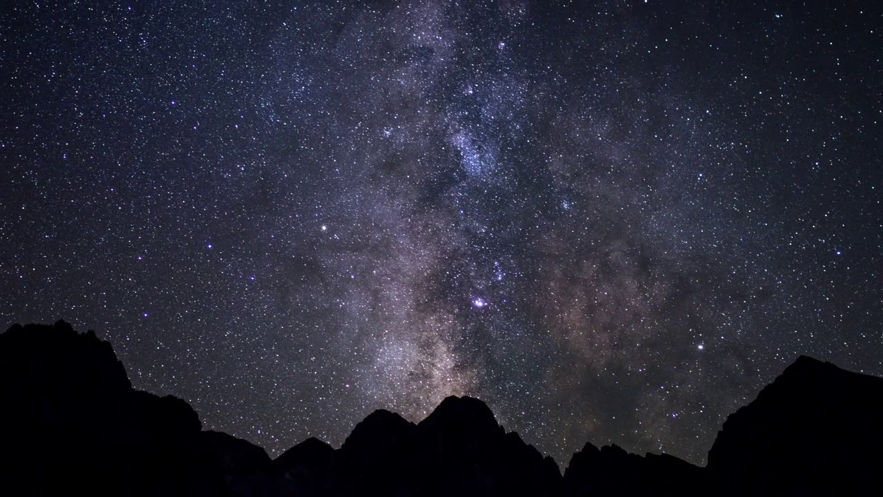 Cel nocturn del Parc Nacional d'Aigüestortes i Estany de Sant Maurici
