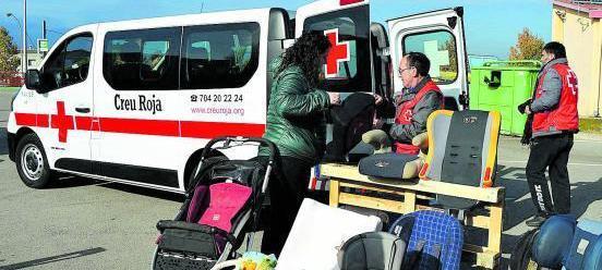 Creu Roja és una de les entitats beneficiàries del programa
