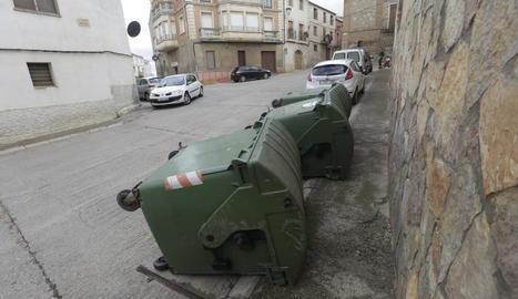 Dipòsits bolcats a Montoliu per evitar-ne l'ús - ITMAR FABREGAT