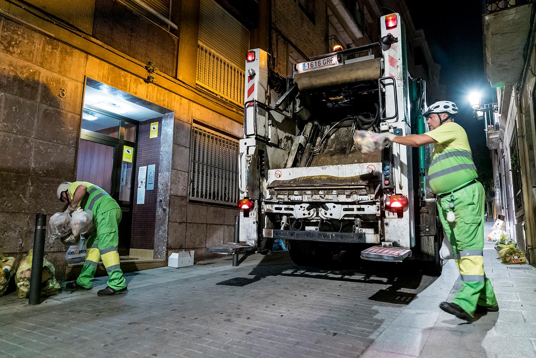 Foto: Ajuntament de Barcelona. Porta a Porta a Sarrià