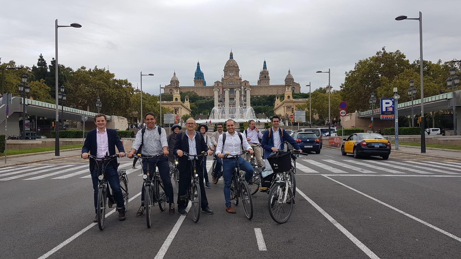 Foto: Bikefriendly. Equip de preparació de la candidatura del Congrés