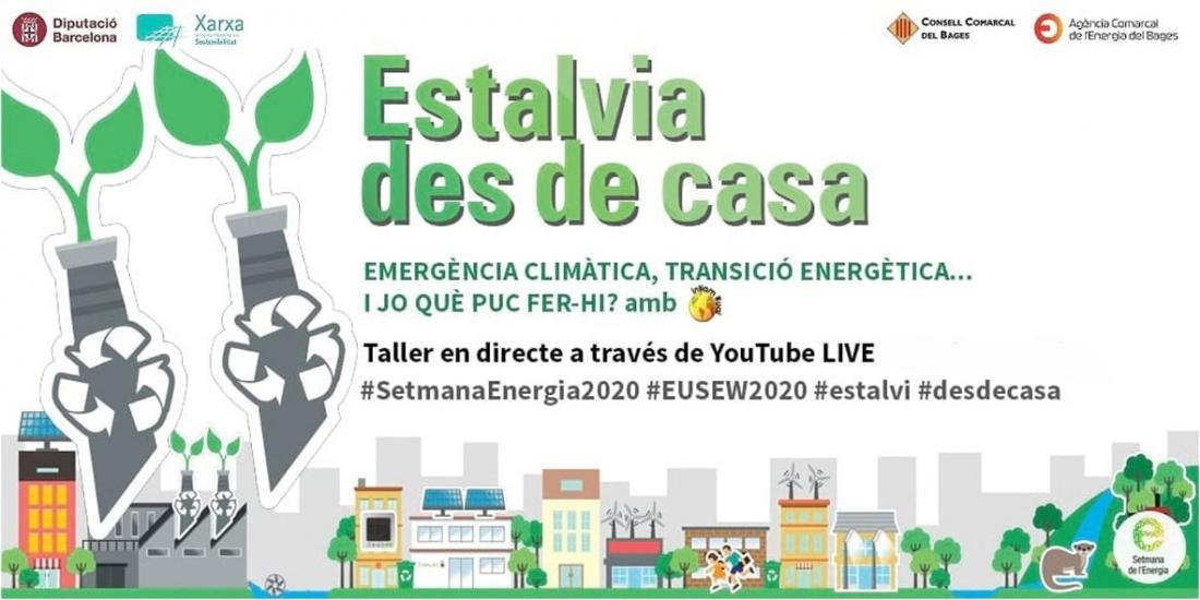 Cicle webinars d'estalvi d'energia a les llars i a les empreses. Setmana de l'energia Imatge: Diputació de Barcelona