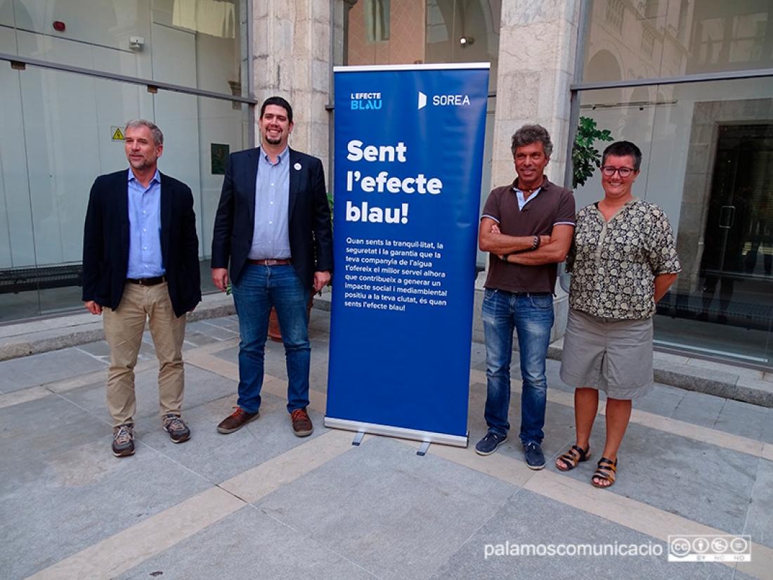 Presentació de 'Mou-te pel mar!',a la Diputació de Girona.