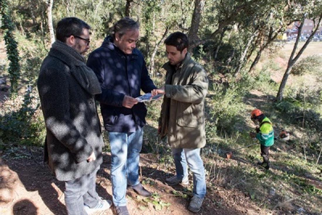 L'Ajuntament de Girona avança en les mesures de neteja forestal i prevenció d'incendis