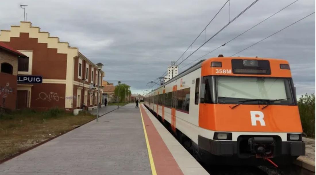 L'estació de Bellpuig, una de les localitats que pateixen un dèficit històric de connexió amb Lleida (Wikimedia Chixoy Share Alike 3.0)