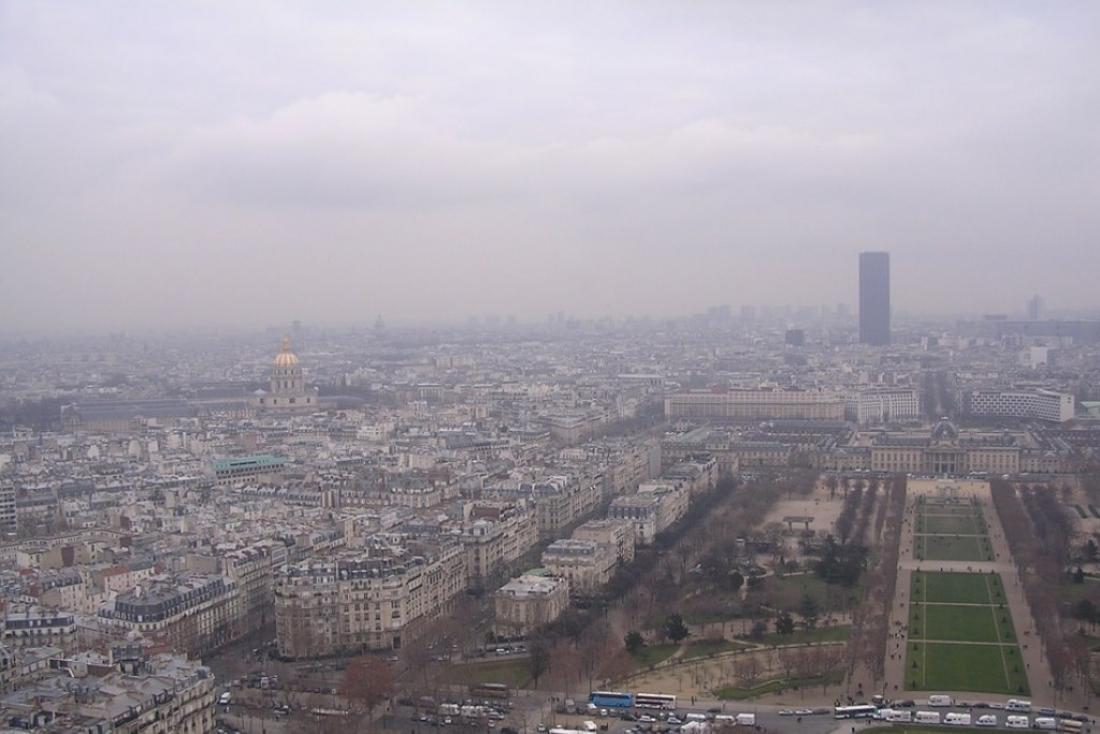 Contaminació a la ciutat de Madrid. Font: Ecologistes en Acció