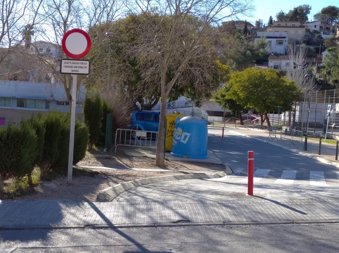 La caldera de biomassa està previst que s'instal·li al parc que hi ha al costat de l'Escola El Morsell.