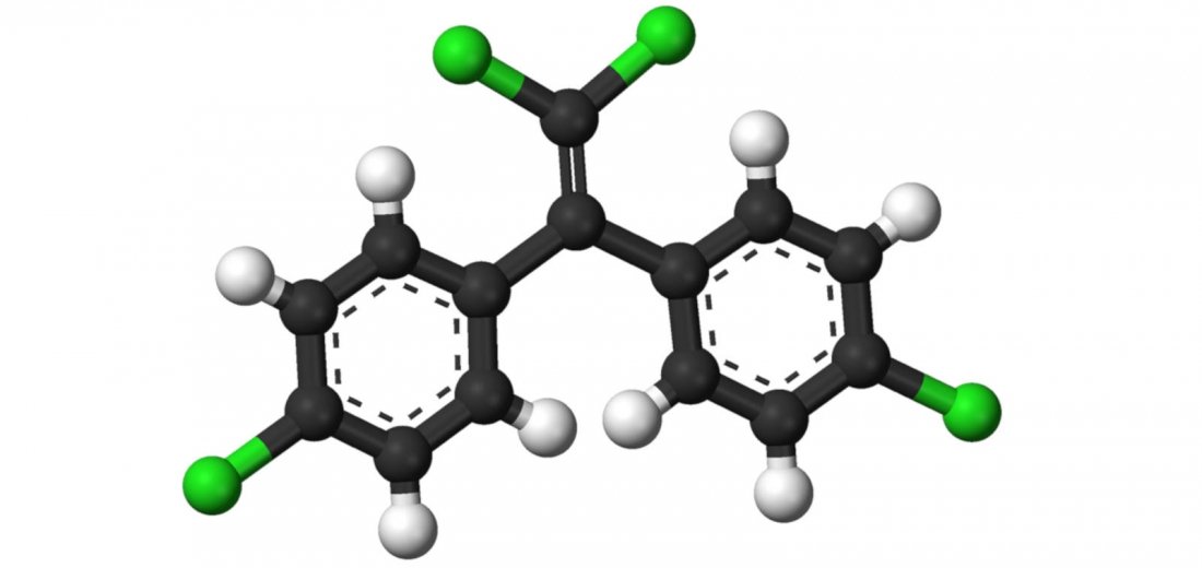 Foto: Wikimedia Commons: Molècula de DDE