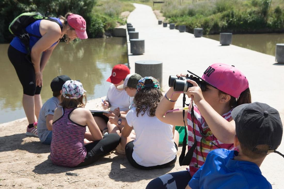 Acció de sensibilització mediambiental Foto: Diputació de Barcelona
