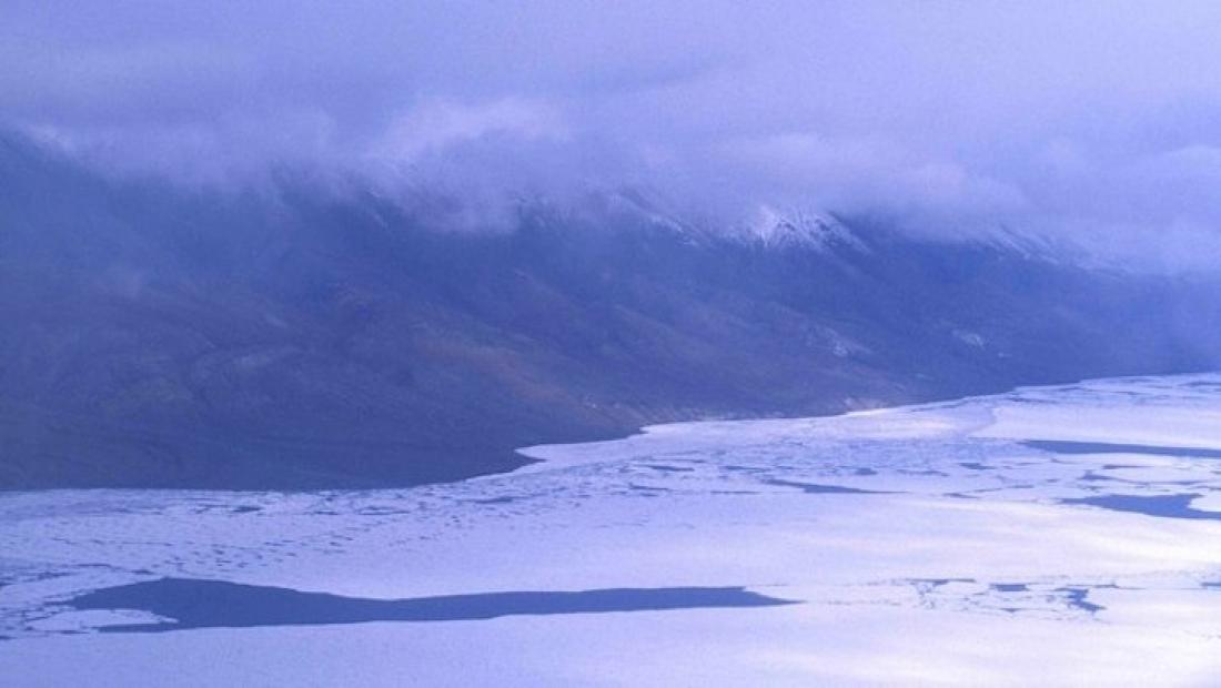 El llac Hazen, a l'Àrtic canadenc (Ansgar Walk-Wikimedia Commons)