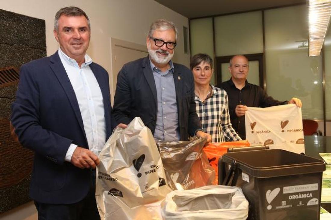 Presentació pública del nou sistema de recollida de residus. @Hermínia Sirvent