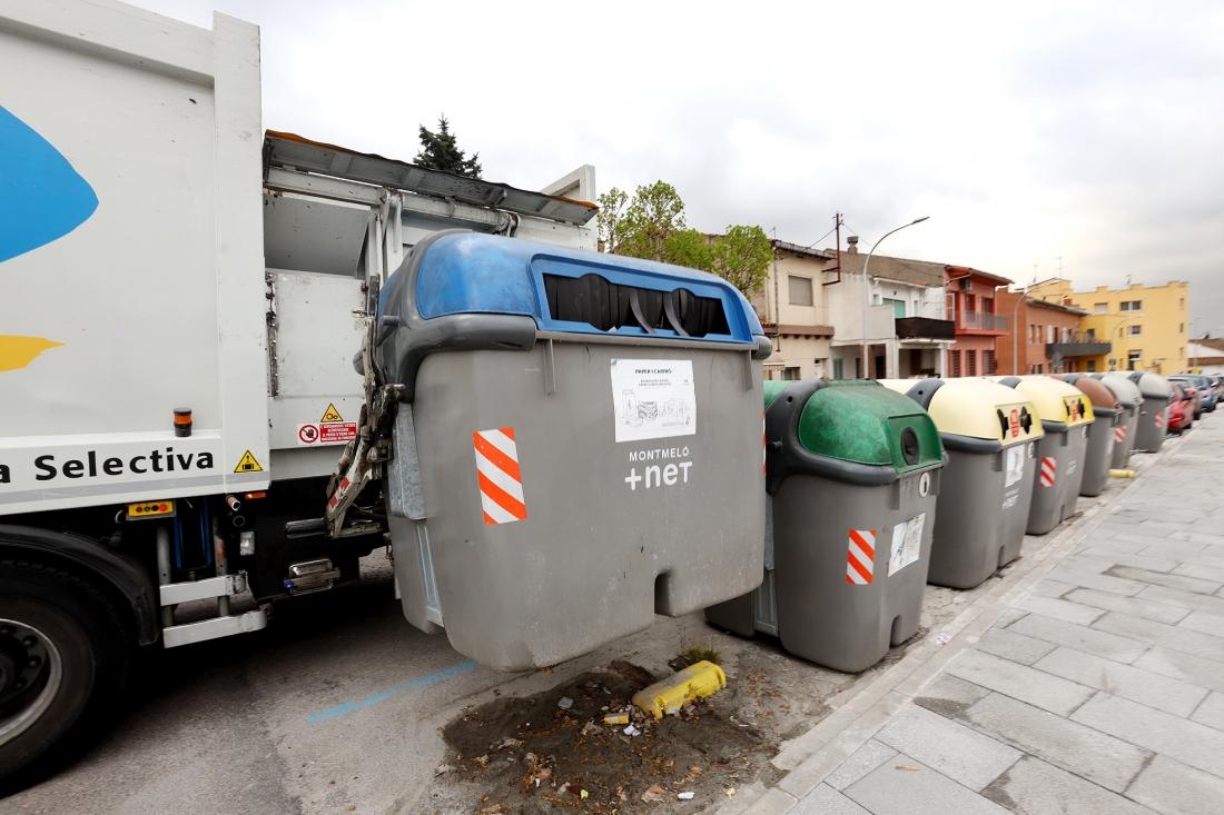A Montmeló, la recollida selectiva ja es fa amb càrrega lateral | Griselda Escrigas