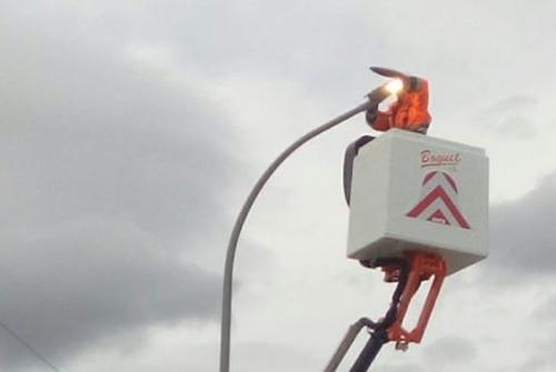 Canvi de luminàries Led al municipi