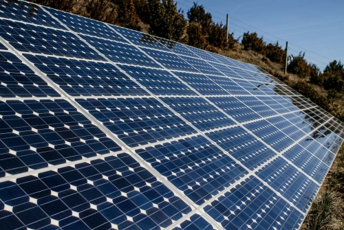 Plaques solars. | Adrià Costa