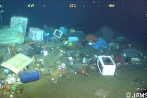 Les deixalles no permeten a certes comunitats marines desenvolupar-se (Jamstec)