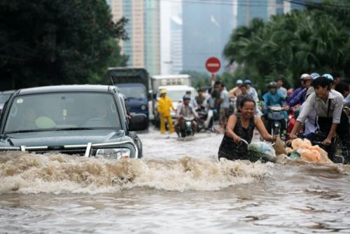Inundacions a Hanoi (Vietnam) l'any 2008. | Haithanh (CC)