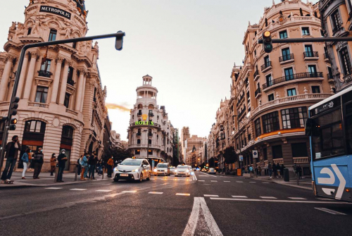 Foto: Centre de Madrid. Jordi Moncasi / Unsplash.