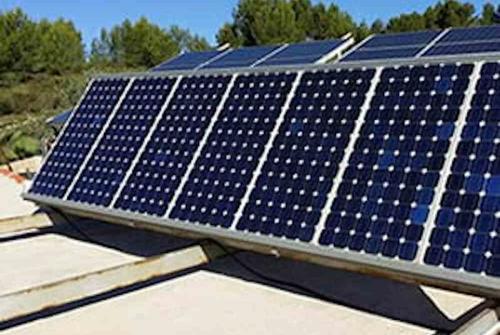 Plaques solars fotovoltaiques de la Pleta