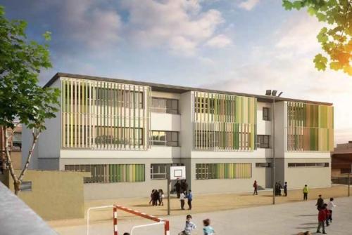 Escola Els Garrofers de Viladecans, la primera que es rehabilitarà amb criteris NZEB