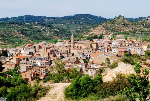 Vista del poble de Cervià de les Garrigues (Lleida) | Damià Alentorn (CC)
