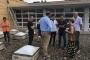 Visita municipal a les plaques fotovoltaiques a l'escola Reixac Autoria: Premsa Ajuntament
