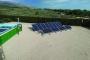 Planta fotovoltaica instal·lada a l'estació depuradora a l'Ametlla de Mar