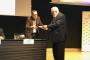 Josep Alabern recollint el reconeixement Josep Alabern recollint el reconeixement | Aigües de Manresa