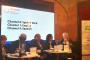 Mercè Rius, durant la conferència sobre governança climàtica on ha participat en el marc de l'ICCA-2019.