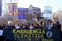 Prop de 2.000 joves protesten a Barcelona en la primera gran manifestació estudiantil en defensa del medi ambient / MANOLO GARCÍA